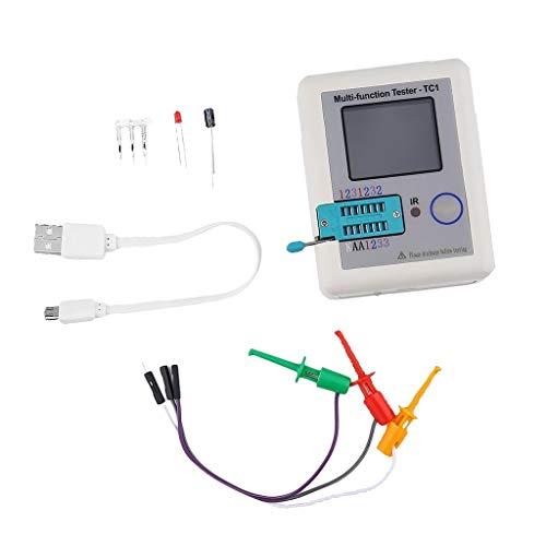 ICQUANZX LCR TC1 ESR Tester Transistor Inductance Capacitance Resistance ESR Meter
