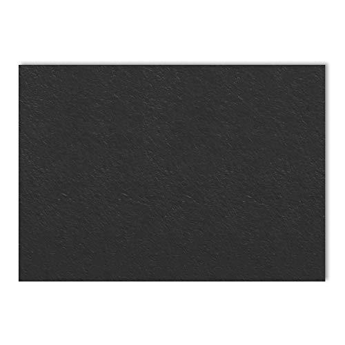 50 Blatt, A5 300 g/m² Fotokarton Farbige Karton - Schwarz