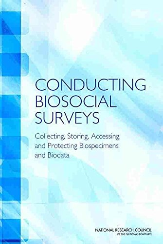 [Conducting Biosocial Surveys: Collecting, Storing, Accessing, and Protecting Biospecimens and Biodata] (By: and Protecting Biological Specimens and Biodata in Social Surveys Accessing Storing Panel on Collecting) [published: December, 2010]