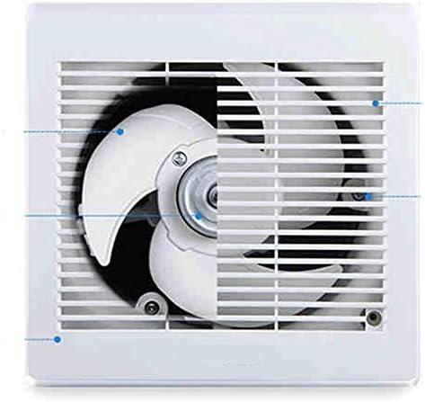 STRAW Ventilador Industrial de Cocina, Inodoro, Extractor, Extractor de Metal, Extractor de Aire Comercial, Ventilador Axial
