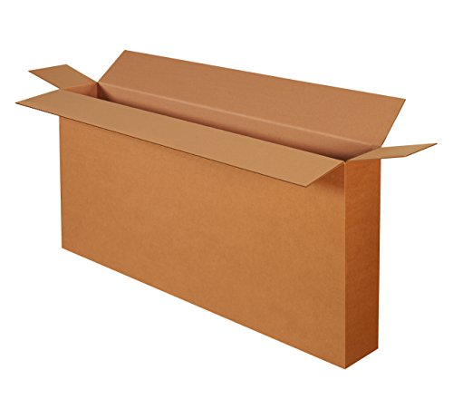 Boxes Fast BFHD54828FOL Cardboard Bike Boxes, 54' x 8' x 28', Side Loading Corrugated, for Moving, Shipping, Package or Storage, Kraft (Pack of 5)