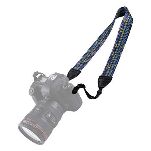 BYbrutek Correa para cámara réflex digital (universal, 150 cm de largo, 3,8 cm de ancho, 6008 A)