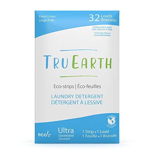 Tru Earth Eco-Strips Waschmittel, umweltfreundliche, ultra-konzentrierte Wäschestreifen (frische Wäsche)