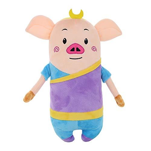 XINGYAO Plüschtiere Super süße Plüschspielzeug Cartoon Langkörper Kissen Reise zum Westaffe King Schwein Pillow Geburtstag (Color : Style 3, Height : About 35cm)