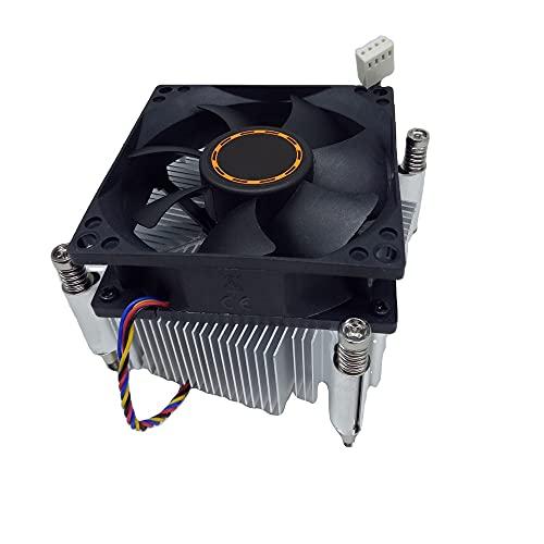 UOEIDOSB Ventilador de la CPU PWM 2011 Núcleo de cobre mediante instalación de tornillos 4Pin Computadora de escritorio PC CPU Core de ventilador del refrigerador del disipador de calor 4pin
