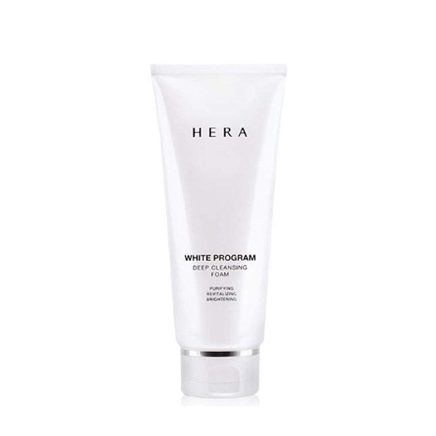 ベースもっと少なく退化するヘラホワイトプログラムディープクレンジングフォーム200ml韓国コスメ、Hera White Program Deep Cleansing Foam 200ml Korean Cosmetics [並行輸入品]