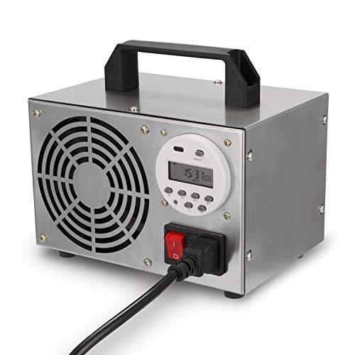 generatore di ozono kkmoon KKmoon Generatore di Ozono per Uso Domestico per Aria Ozono Purificatore Filtro Aria 40g/h