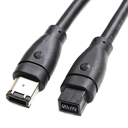 IEEE 1394 Tipo FireWire 400 a 800 6 pines MalePort a 9...