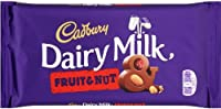 Cadbury Fruit & Nut (キャドバリー フルーツ&ナッツ) 120g x 3 【並行輸入品】【海外直送品】