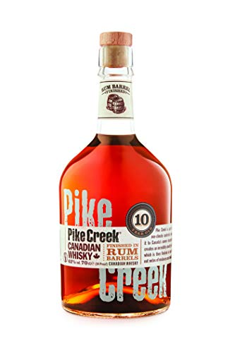 Pike Creek 10 Jahre Canadian Whisky (1 x 0,7 l)