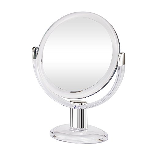 Gotofine Double Sided Magnifying Makeup Mirror, 1X & 10X Magnification...