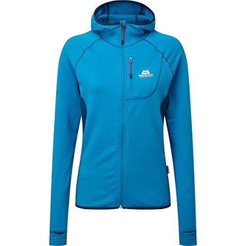 Mountain Equipment Eclipse Hooded Jacket Womens, 8 UK Damen, Lagoon Blue/Marine