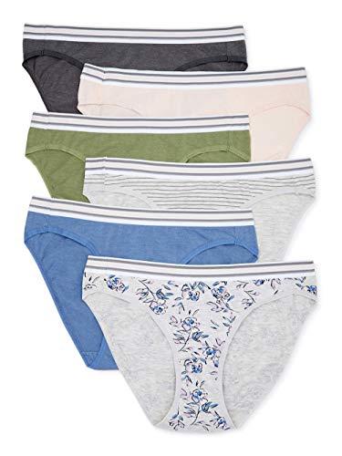 Secret Treasures Women's Heather Print Bikini Panties, 6-Pack Size Secret Tre...  via @amazon