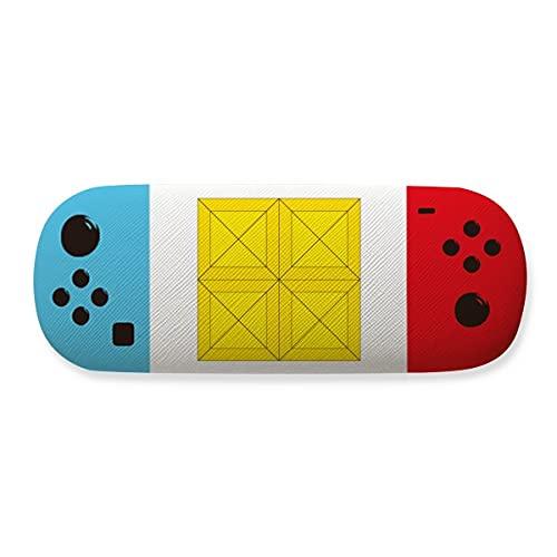 Classic Games - Estuche para gafas de almacenamiento de bloques amarillos