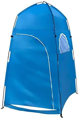 Privacidad exterior WC tiendas de campaña Pop Up de Privacidad Carpa instantánea portátil Aseo Tienda de ducha al aire libre Campo de Cambio de espacio for acampar y Playa Fácil de configurar plegable