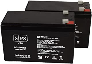 Mighty Max Battery 12V 8Ah Battery Geek Squad GS-875U HI-Rate for UPS 2 Pack Brand Product