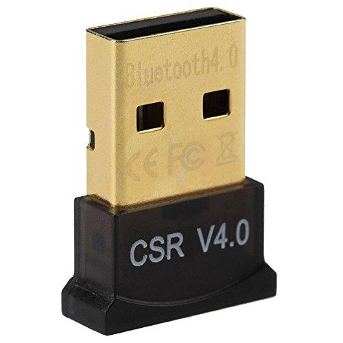 Link-e - USB adaptador Bluetooth V4.0 (20-50 m, caudal 3 MBps), compat