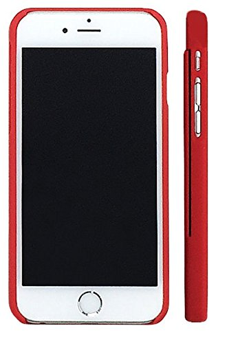 SlimClip Case All-in-One Lightweight Sports Case for Apple iPhone 6 or 6S Cell Phone - RED