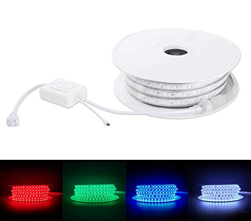 Brillihood Flexible LED RGB Rope Light Strip