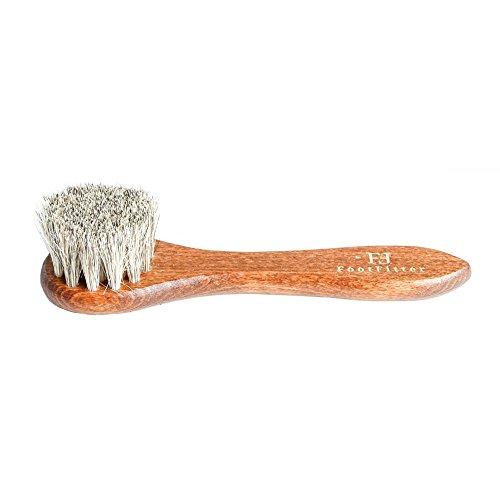 """FootFitter Shoe Dauber Brush 6"""", Grey Brown"""