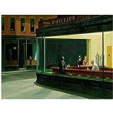 Decoración del hogar Edward Hopper Lienzo Pintura Carteles e Impresiones imágenes artísticas para decoración del hogar -50X70 CM sin Marco