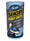 Scott Shop Towels Heavy Duty (32992), Blue Shop Towels for Solvents & Heavy-Duty Jobs, 60 Sheets / Roll, 720 Sheets / Case (Pack of 12)