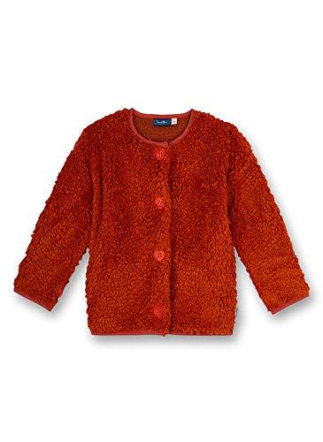 Sanetta Mädchen 126015 Sweatshirt, red Pepper, 98