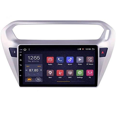 Radio de coche Android 8.1, GPS, 9 pulgadas, 1080P, pantalla táctil HD, estéreo, TV, para Peugeot 307 2004-2013, con control en el volante, Bluetooth, manos libres, Link SWC, 4G, WIFI2G + 32G