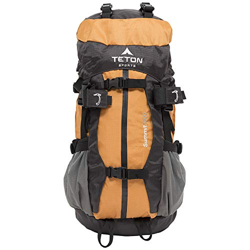 TETON Sports Summit 1500 Backpack; Lightweight, Durable Daypack for Hiking, Travel and Camping; Not Your Basic Backpack