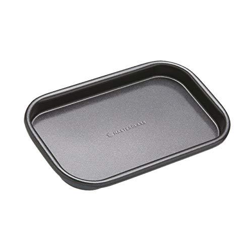MasterClass - Teglia da forno a porzione singola con antiaderente senza PFOA, robusto acciaio al carbonio da 1 mm, 16,5 x 10 cm