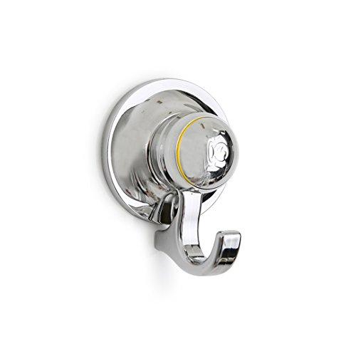 myHookie innovativer Saughaken, Duschhaken | extra stark - ohne Bohren | für Badezimmer, Küche, Glasduschwand & mehr (56mm)
