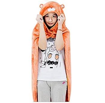 Araonstorm Himouto! Umaru-chan Hamster Hamm Anime Janpanese Robe Cloak Cosplay Costume Blanket Orange