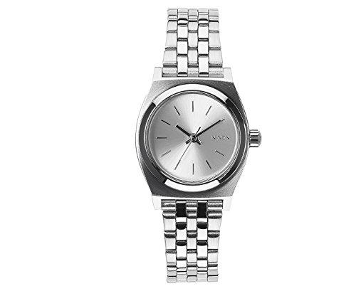 Nixon Damen-Armbanduhr XS Small Time Teller Analog Quarz Edelstahl A3991920-00