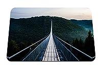 26cmx21cm マウスパッド (吊り橋) パターンカスタムの マウスパッド