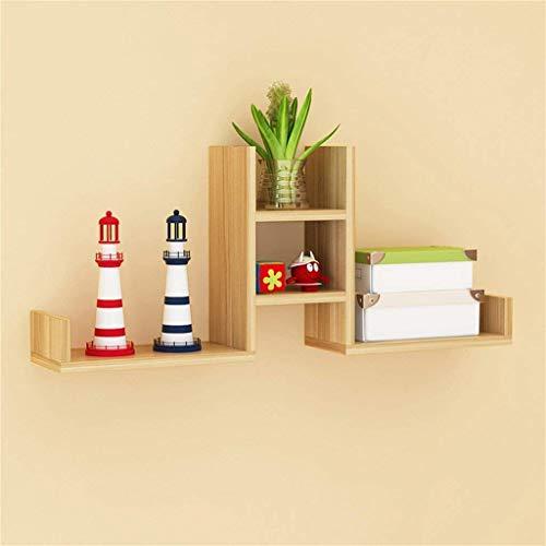 ZHJBD presentatiestandaard voor thuisdecoratie / partitie, wandplank, boekendecoratie, rood