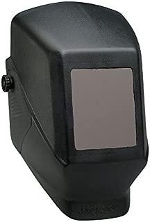 KIM CLARK 15134 Jackson Safety JHSL100 Shade 10 Passive Welding Helmet,  4 1/2 x 5 1/4 Fixed Front,  Black