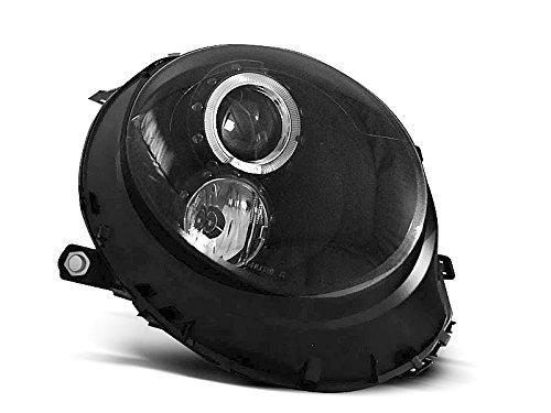 Mini Cooper 06-14 Angel Eyes koplamp zwart C06