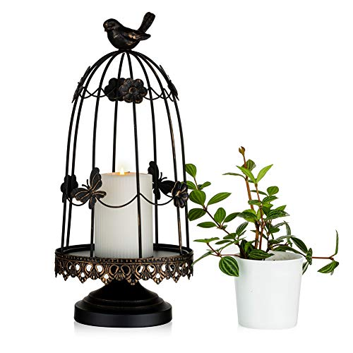 Sziqiqi Decorative Bird Cage Candle…