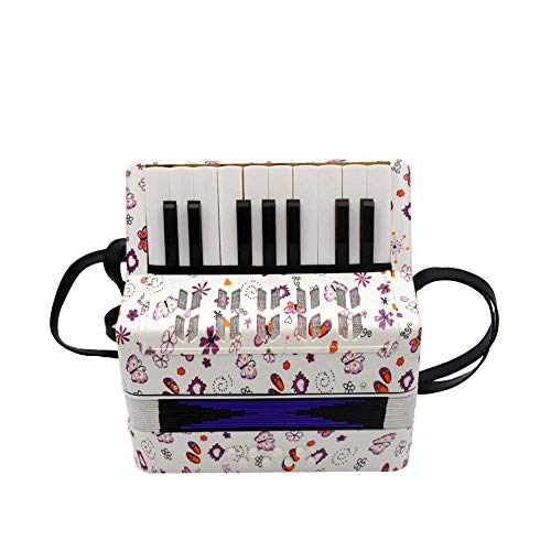 MEI DE HEN Accordian Instrument Button Accordion Kid's Musical Toy Accordion Effect for Children Over The Age of 5 Kid Instrument Beginner Piano Accordions (Color : A, Size : 23x10x23cm)
