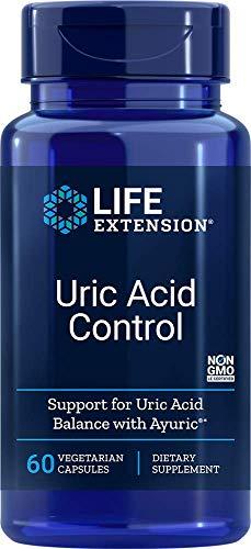 Life Extension Contrôle de l'Acide Urique 60 Gélules Végétariennes