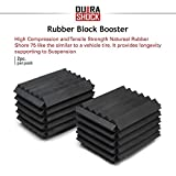 DuraSHOCK U.S. Coil Spring Block Boosters Series Pack, Automotive Performance Enhancement for Car Coil Spring Shock Absorption, Protection of Auto Suspension System (1.25' x 1' x 1')