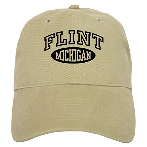 Clothing decoration Flint Michigan Baseball Cap