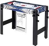 Umi. Essentials 5 in 1 Multifunknierter Spieltisch Multigame Billardtisch, Billard Basketball Tischtennis Hocky Bogenschießen