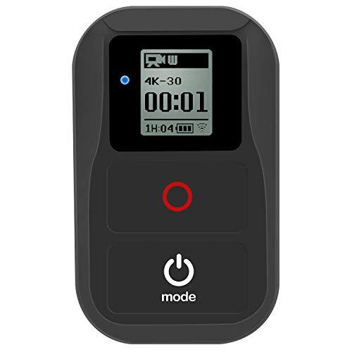 Suptig Fernbedienung WiFi Fernbedienung für GoPro Hero 8 Hero 7 Black Hero 6 Hero 5 Hero 4 Hero Session Hero 3 Hero 3 + Hero + LCD Cam Wasserdicht Wireless Fernbedienung WiFi Fernbedienung (schwarz)