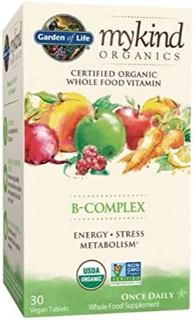 Garden of Life My Kind Organic Vegan Vitamin B Complex Tablets 30ct product image