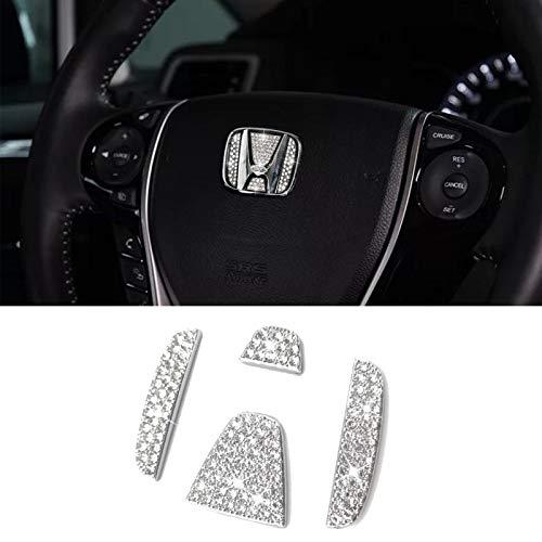 Jaronx Crystal Bling Steering Wheel…
