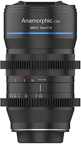 SIRUI 35mm F1.8 Anamorphic 1.33X Lens for M4/3 Mount APS-C