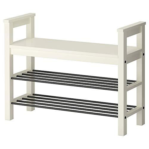 IKEA  Hemnes Bench With Shoe Storage, White