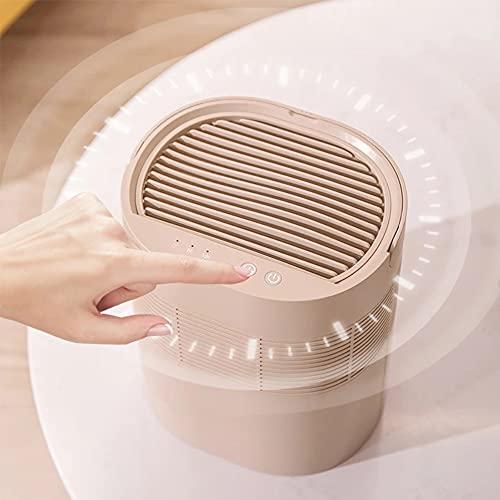 Deumidificatore portatile da 1000 ml, deumidificatore per auto, riutilizzabile, per muffe, umidità, mini deumidificatore per la casa per rimuovere l'umidità in cucina, camera da letto, bagno, cachi