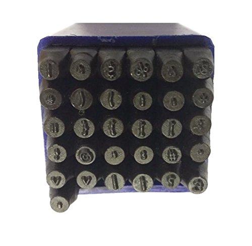 Proops 31Stück 2,5mm Tastatur Symbol Schild Metallverarbeitung Metall Briefmarken, Interpunktion, Währung etc. (M9269) versandkostenfrei innerhalb UK